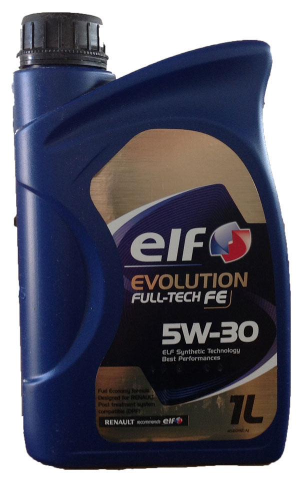 ELF EVOLUTION FULL-TECH  F.E.  5W30 SOSTITUISCE SOLARIS FE